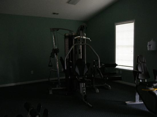 Myrtlewood Villas: fitness room