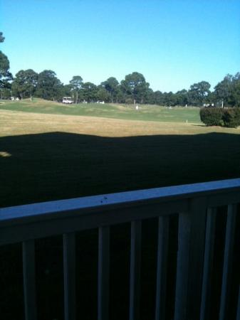 Myrtlewood Villas: view of golf course from balcony