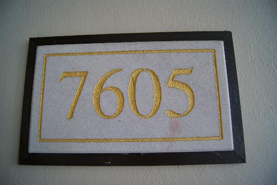 Baan Laimai Beach Resort: Room number