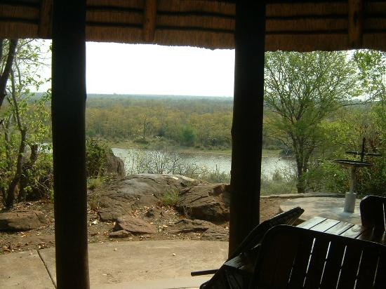 Mopani Rest Camp: View from unit of dam