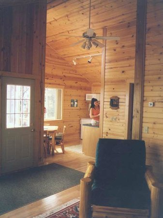 Stone Gate Resort: Inside Cabin #8
