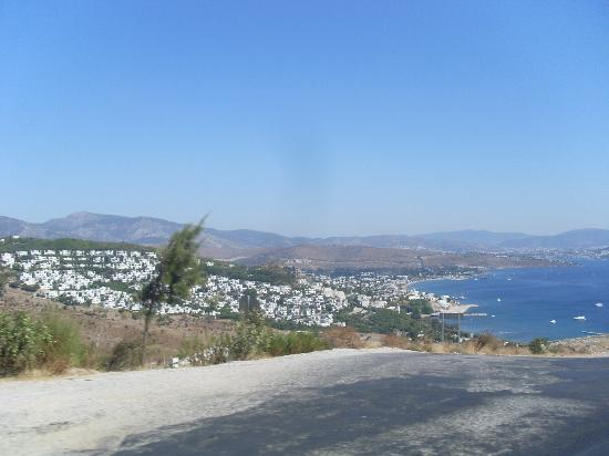 Bodrum Imperial: view from hill
