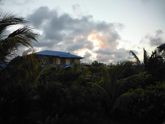 Orchid Villas Mauritius: couché de soleil 2