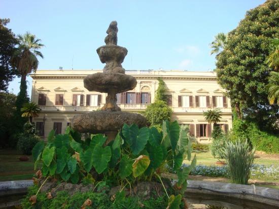Villa Malfitano: fontana