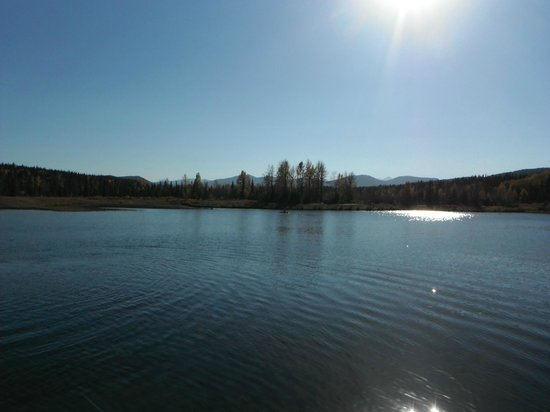 Bragg Creek, Kanada: Allen Bill Pond In September