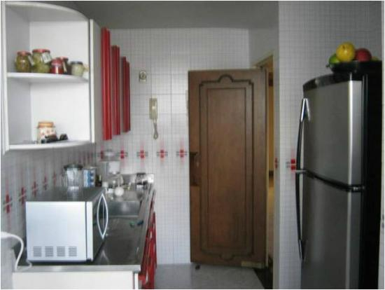 Paisasky: cocina completamente dotada con horno, nevera, ice-maker, microondas, cafeteras, licuadoras...