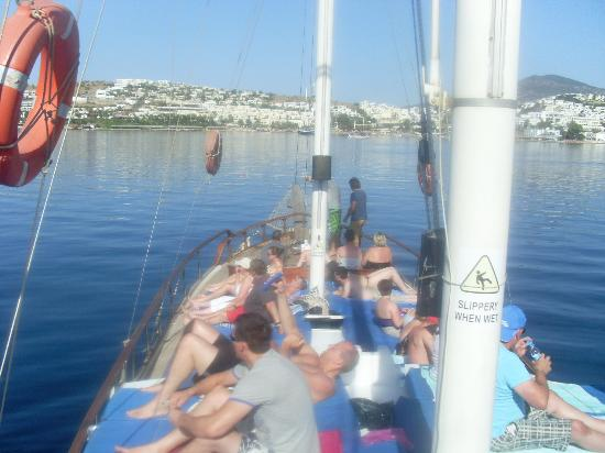 Family Life Bodrum Imperial: boat trip