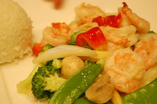 Rainbow shrimp picture of li asian cuisine canton for 8 chinese cuisine