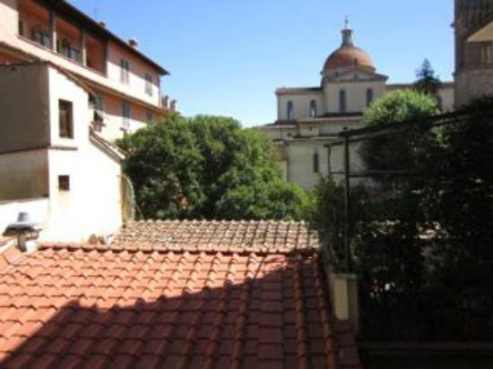 Palazzo Mannaioni Suites: View from the window