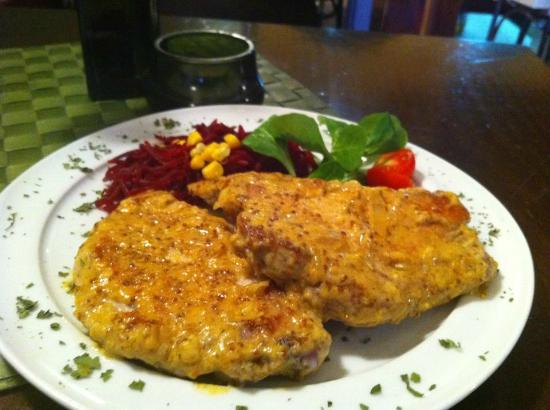 Gastropub Viceversa: Pork Chops with grain mustard