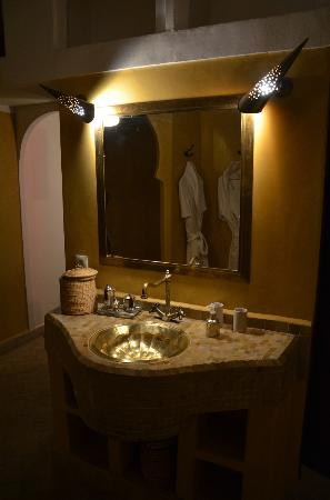 Riad Pachavana: salle de bain