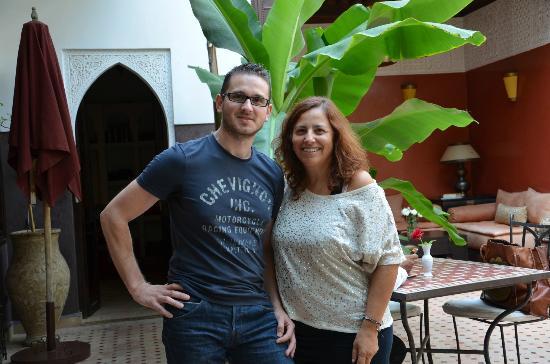 Riad Pachavana: claudine et moi