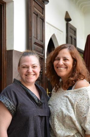 Riad Pachavana: claudine et isabelle