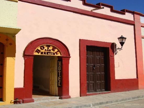 Hotel San Martin: Entrada