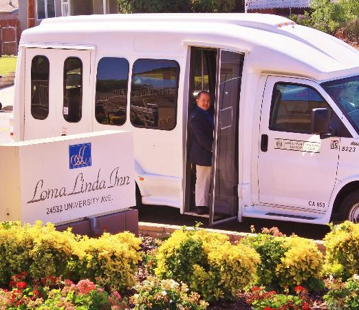 Loma Linda Inn: Shuttle Services