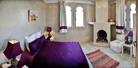 Dar Liouba : Chambre Lavande
