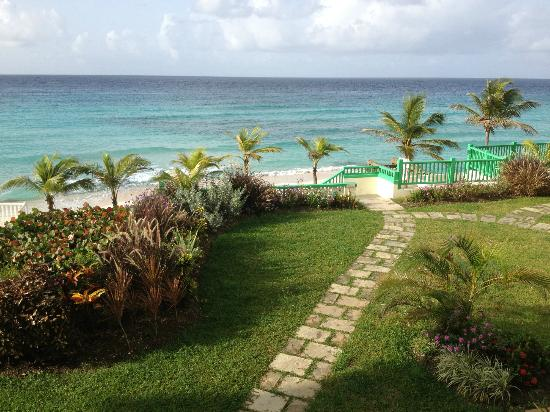Rostrevor Hotel : Wonderful views over the caribbean sea