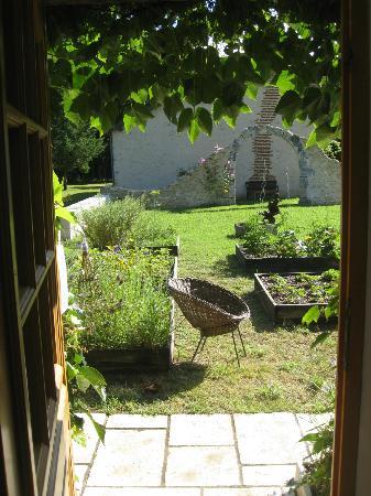 Domaine de la Pépinière : Vue de la porte.
