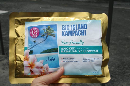 Friends of NELHA: Kona Kampachi yum