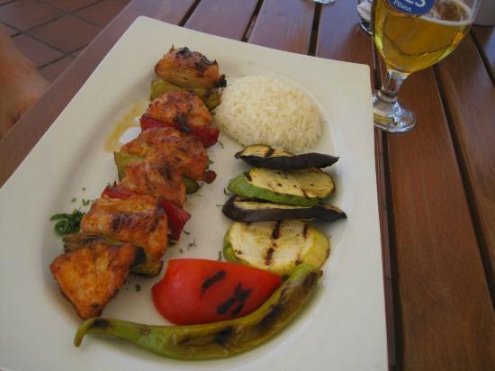 Armada Terrace Restaurant : fish dish