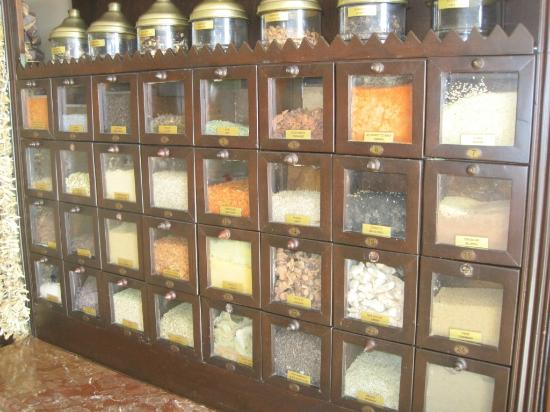 Armada Terrace Restaurant : lots of spices