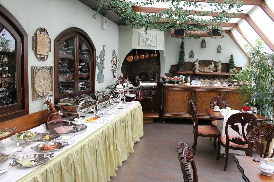 Hotel Bohema: Breakfast in the terrace