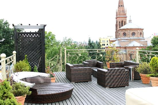 Hotel Bohema: Roof terrace