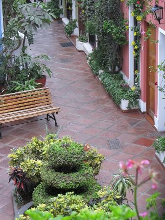 Hostal El Patio : Plant Filled Courtyard