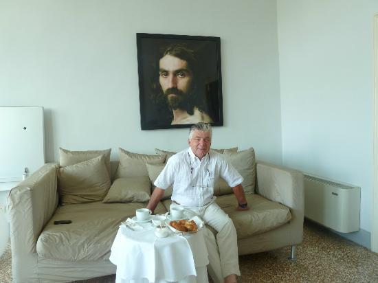 Casa de Uscoli: petit déjeuner