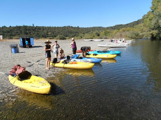 River's Edge: Choosing our kayaks