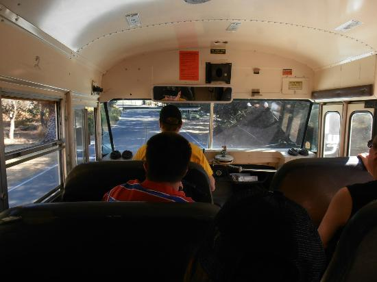 River's Edge : On the bus