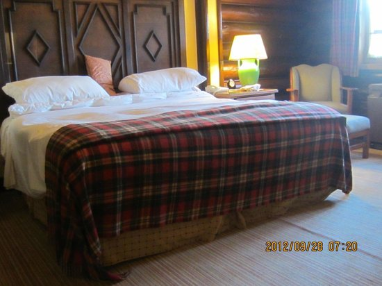 Fairmont Le Chateau Montebello:                   The most comfortable bed ever.