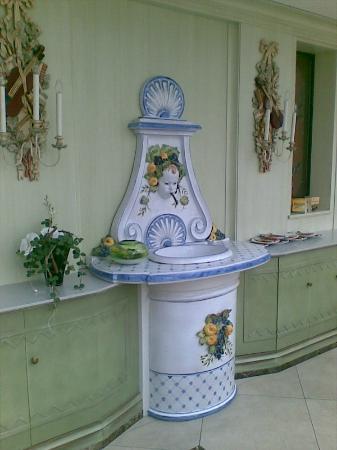 Hotel Restaurant Dreiflussehof: foto in de mooie veranda/terras