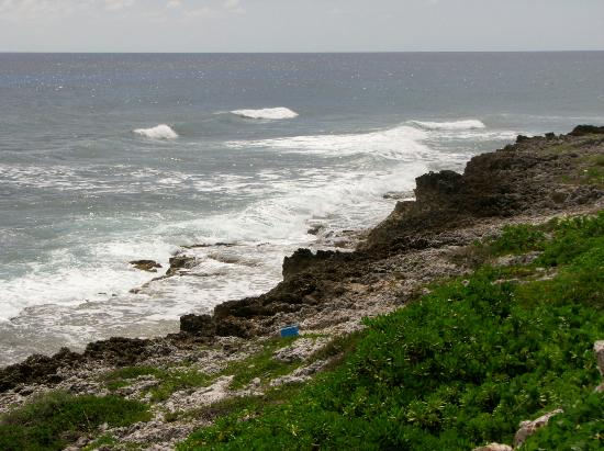 Cayman Islands Department of Tourism: Blow holes on east end.