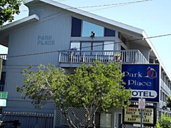 Park Place in Cedar Key: Park Place across from the city park and waterfront