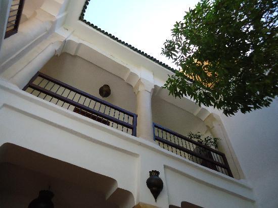 Riad Aldiana: vue d'une chambre