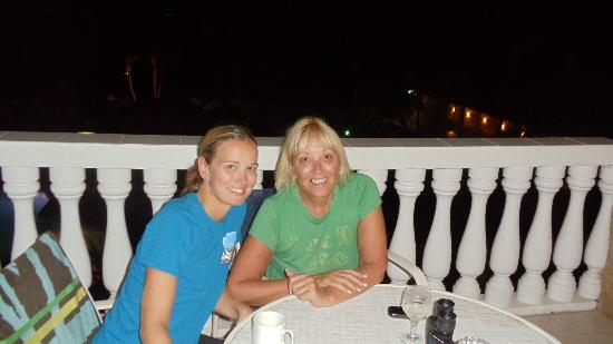 Casa Del Mar Beach Resort: My daughter and I on the balcony