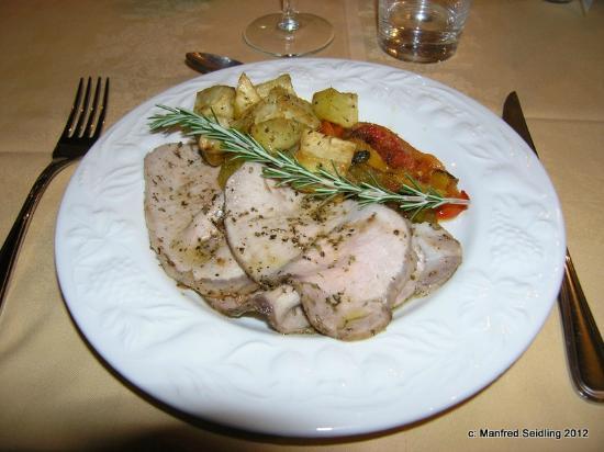 Fattoria Poggerino: Abendessen