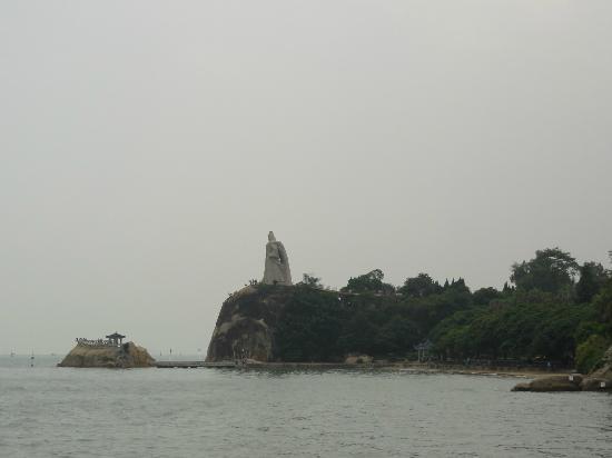 Gulangyu Island : 鄭成功の像