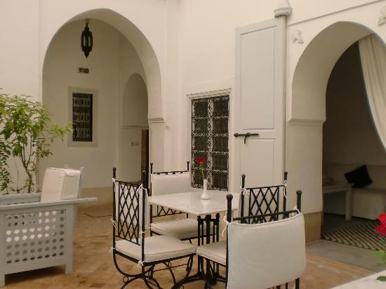 Riad Chi-Chi: Riad Courtyard