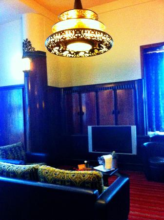 Grand Hotel Amrath Amsterdam : Lounge in suite