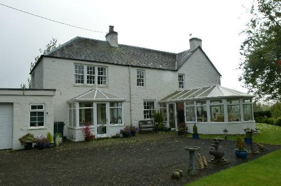 Dalhenzean Lodge: The house