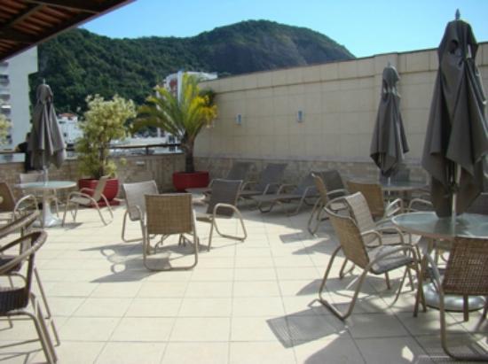 Hotel Mar Palace Copacabana: TERRAZA