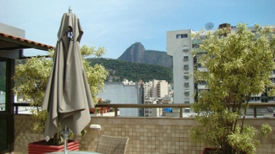 Hotel Mar Palace Copacabana: VISTA DESDE LA TERRAZA