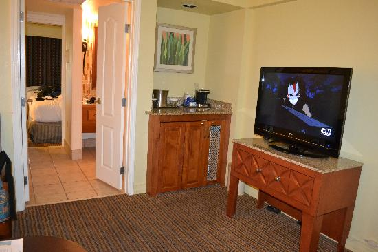 Pointe Hilton Squaw Peak Resort: loundge/entrance