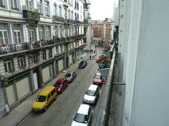 Downtown-BXL: The view from our room