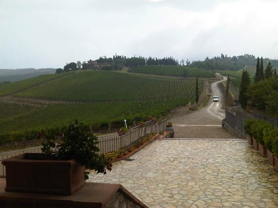 Tuscan Wine Tours by Grape Tours: Even with the rain - this place is beautiful