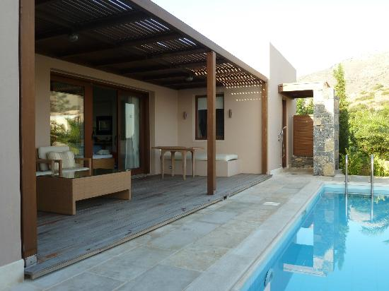 Blue Palace, a Luxury Collection Resort & Spa, Crete: Terrasse