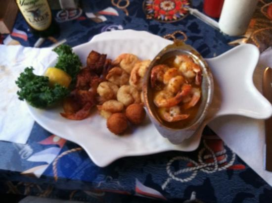MacElwee's Seafood: shrimp trio