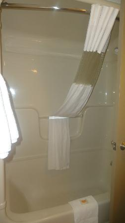 Days Inn - Niagara Falls Lundys Lane: bathroom tub and shower
